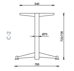 rysunek techniczny C-2
