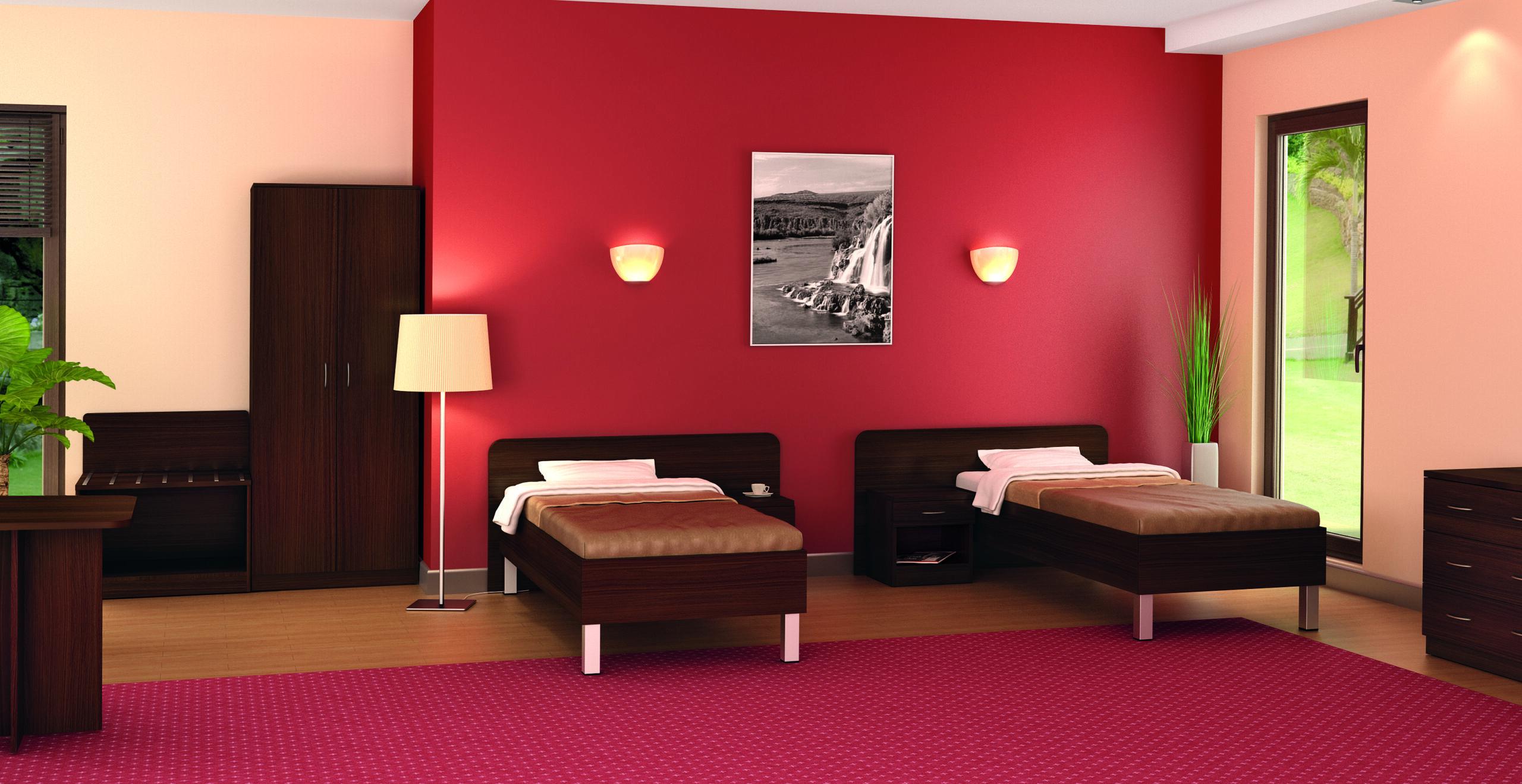 Stelaże do łóżek hotelowych