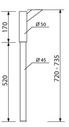 NKB-50/45/520